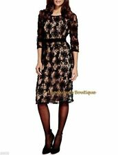 Per Una 3/4 Sleeve Lace Dresses Midi