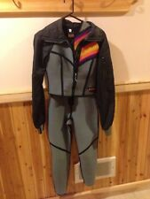 Vintage BARE Full Body Two Piece Wetsuit Scuba Surf Size  10 Retro Funky