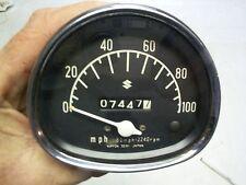 65 SUZUKI B100 B105P KT120 SPEEDOMETER ASSY