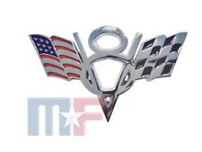 Verchromtes V8 Emblem Dodge Jeep Chevrolet Ford Pickup Van Mustang Camaro Tahoe