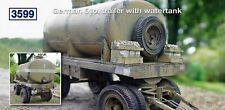 Deutscher 5 To. Anhänger mit Wassertank. Bausatz 1:35
