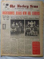 December 1973 The Hockey News NIGHTHAWKS BEARS AHL