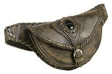 Milwaukee Leather MP8835-BKBGE-PCS Black/Beige Ladies Belt Bag with Gun Holster
