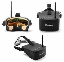 5Zoll Eachine EV800 FPV VR Virtual Reality Videobrille Headset Goggles 5.8G 40CH