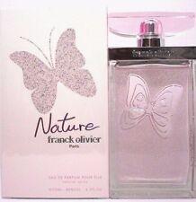 FRANCK OLIVIER NATURE Eau De Parfum Spray FOR WOMEN 2.5 Oz / 75 ml NEW IN BOX !