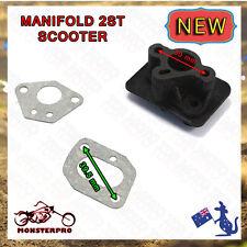 Intake Inlet Manifold For 33cc 43cc 49cc Scooter Cat Eye Pocket Bike Kids Moto