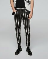 ZARA MAN SPECIAL EDITION STRIPED PRINTED TROUSERS PANTS REF. 0706/374
