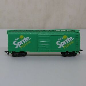 Express Limited Coca-Cola Train Set #2 HO Scale Sprite Green Boxcar Coke Hopper