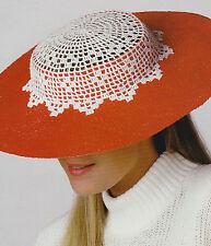 LOVELY Crochet Hat Trim/Crochet Pattern