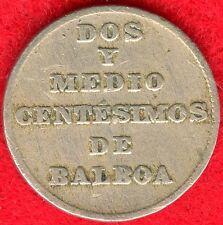 PANAMA - 2 1/2 CENTESIMOS - 1929 - LOW MINTAGE - SCARCE