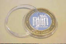 AIR-TITE  Clear Holders for  $10 Silver Strike Gaming Tokens  <> MADE IN USA '