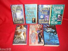 Shannon Drake Books 7 Book Lot Paranormal Romance Vampire Paranormal Romance