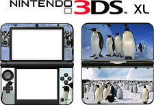 Nintendo 3DS XL 3DSXL 3 DS XL PENGUIN  Vinyl Skin Decal Sticker