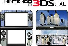 Nintendo 3DS XL 3DSXL 3 DS XL PINGOUIN VINYL SKIN AUTOCOLLANT