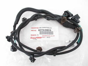 Genuine OEM Toyota 82114-04010 Fog Lamp Wire Harness NO.4 2015-2019 Tacoma