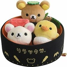 Rilakkuma Sushi Box Korilakkuma Kiiroitori Stuffed toy san-x