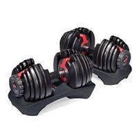 Adjustable Dumbbells Weight Set Bowflex Selecttech 552 Pair Fitness Workout Gym