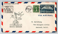 Canada 1939 First Flight Cover Montreal to Vancouver (Can-301z) - Z12842
