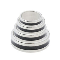 Magic Strong Magnetic Ring Magnet Coin Finger Magician Trick Props -Black