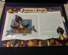 Willabee & Ward DISNEY Collector Patch JAFAR & IAGO 1992 Aladdin