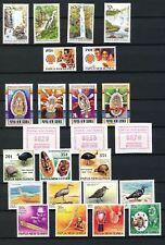 PAPUA NEW GUINEA 1990 Frama Birds Masks MNH (24 Stamps)(Pap2)