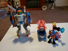 Playskool Hasbro Transformers Rescue Bots Small Lot including Helicopter bot