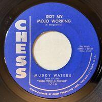 Muddy Waters - Got My Mojo Working / Woman Wanted 45 Chess 1960 Blues VG mp3