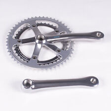 Shimano RSX FC-A415 Crankset 175mm 52/42 Square Taper 7-Speed Silver