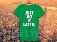 Just Do It Later Camiseta Charlotte GEORDIE CROSBY Moderno Hipster
