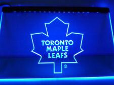 "Toronto Maple Leafs Led Sign 12"" x 8"" On/Off Switch mancave bar pub"