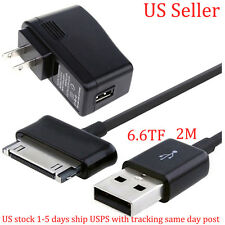 2A AC Adapter Charger + USB Cable for Samsung Galaxy Tab Tablet 7 8.9 10.1 Inch