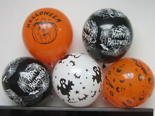 8x Helio Látex Halloween Globos Calabaza Calavera pirata fantasmas