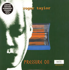"Roger Taylor, Pressure On, NEW/MINT Numbered Ltd edition ORANGE vinyl 7"" single"