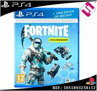 VIDEOJUEGO PARA PS4 PLAYSTATION 4 FORNITE LOTE CRIOGENIZACION 1000 PAVOS (NO CD)