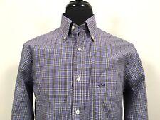 Paul & Shark Yachting Soft Touch Plaid M Medium Button Dress Shirt 15.5 Men's 39