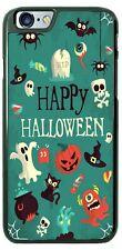 Happy Halloween Pumpkin Fall Bats Phone Case For iPhone i11 Samsung LG Google