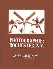 Catalogue d'exposition Rochester, N.Y. 20 artistes. 19,50 €. Etat T/L 1976