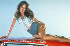 CATHERINE BACH ON CAR ROOF HOT DUKES OF HAZZARD POSTER