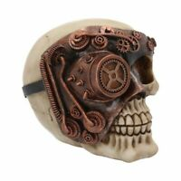 MONOCLE MAN 14.9cm Steampunk Skull Ornament Gothic Nemesis Now  FREE P+P