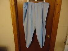 "Womens Mustang Elastic Waistband Size 34WP Petite Light Blue Pants "" BEAUTIFUL P"