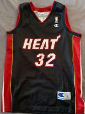 Shaquille O'Neal 32 Miami Heat NBA basketball jersey Champion size L 44
