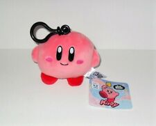 "TOMY KIRBY MINI PLUSH 4"" CLIP ON GAME STYLE CLUB MOCCHI MOCCHI NEW WITH TAG #A"