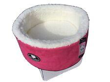 Cat Bed  PINK Fleece Super Soft Warm Washable
