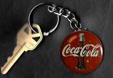 Coca-Cola LOGO Retro Keychain Key Chain