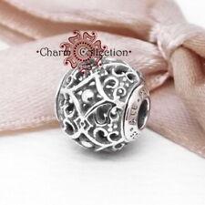 Pandora Silver Essence Ornate AFFECTION Bracelet S925 Charm, NEW,  796056