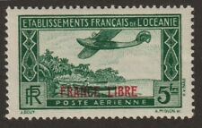 French Polynesia 1946  #C2 Air Post Stamp - MNH