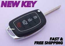 Original HYUNDAI SONATA keyless entry remote fob transmitter +NEW FLIP KEY BLADE