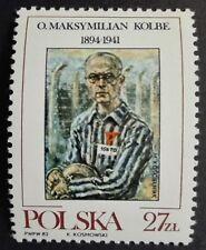 POLAND STAMPS MNH Fi2683 Sc2540 Mi2831 - Maximilian Kolbe - 1982, **