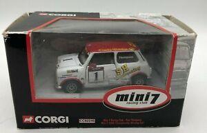 Corgi CC82249 Mini 7 Racing Club - Paul Thompson Championship Winning Car 2005