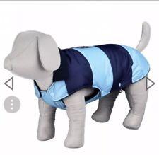 Dog coat Trixie Blue Carso Winter Jacket size xsmall. 27cm